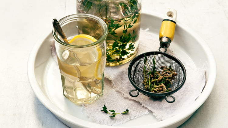 thyme is used for respiratory illness
