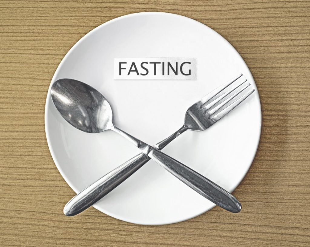 fasting can help you lose weight quickly.