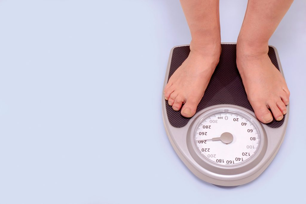 slow weight loss is the only way to lose weight and keep it off.